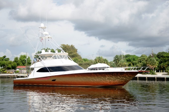 Yacht mustang sally viking 82 for 85 viking motor yacht