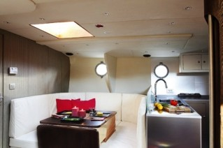 Vintage -  Dining area and Galley