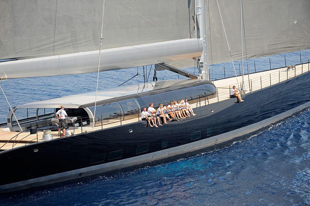 Segelyacht modern  Yacht AHIMSA, a Vitters Superyacht | CHARTERWORLD Luxury ...