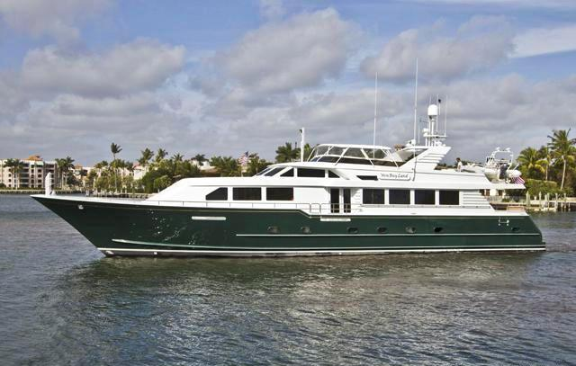 Motor yacht WON BUY LAND