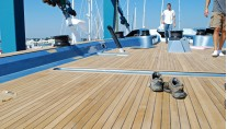 Wally Sailing yacht Highland Fling image courtesy of RI Yachting