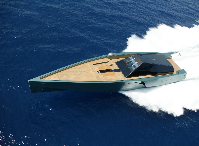 Yacht Galeocerdo, a WallyPower 118 Superyacht ...