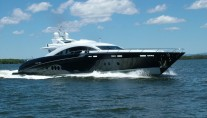 Warren Yachts s120 superyacht Ghost Photo by IBS