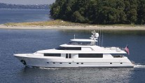 Westport 112 - sistership to Lyons Pride yacht