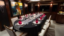 Westport Motor yacht W - Formal Dining