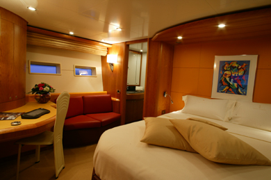 Where The Dreams Have No End - Master Cabin