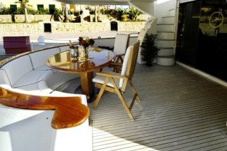 White Fang -  Aft Deck