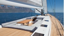 Windfall superyacht - Guests Cockpit
