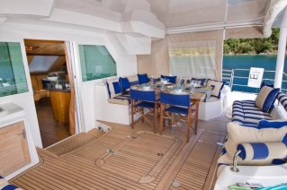 XENIA - Aft deck