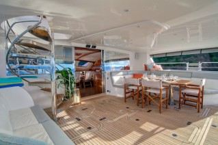 XENIA 74 - Aft deck