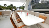 YOLY alfresco flybridge