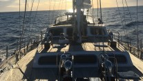 YONDER STAR - View aft