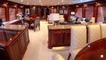 Yacht  REFLECTIONS - Salon and dining view