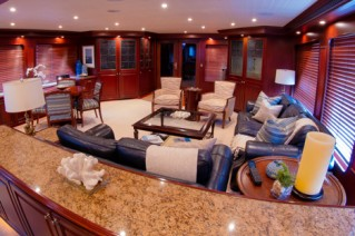 Yacht  REFLECTIONS - Salon view