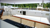 Yacht  REFLECTIONS - Upper deck 2