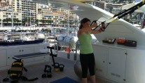 Yacht AFRICAN QUEEN -  Fitness on the Sundeck