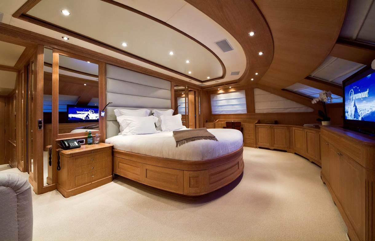 Yacht AFRICAN QUEEN -  Master Cabin