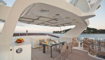 Yacht AFRICAN QUEEN -  Sundeck Dining
