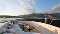 Yacht AFRICAN QUEEN -  Sundeck Seating forward