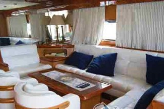 Yacht ALBATROSUN -  Salon Seating