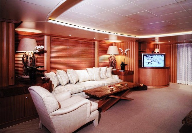 Yacht ALEXANDRA -  Main Salon Seating