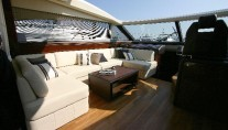 Yacht ALGANDRA -  Retractable Sun Rood in Salon