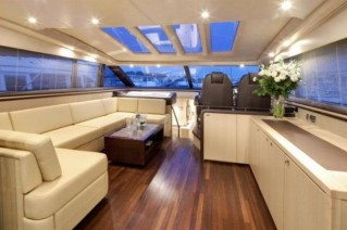 Yacht ALGANDRA -  Salon