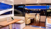 Yacht ALGANDRA -  View Forward