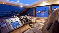 Yacht ALGANDRA -  Wheelhouse