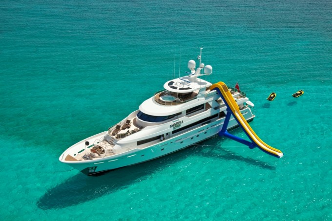 Luxury Yacht Charter Yacht Amarula Sun Water Sports Toys
