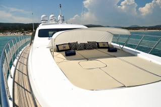 Yacht AMAZING -   Foredeck Sunbeds