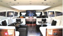 Yacht AMAZING -   Main Salon with TV