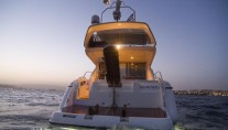 Yacht AMMOS - Aft View