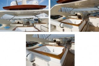 Yacht AMON -  Flybridge and Spa Pool
