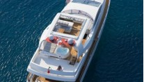 Yacht AMON -  From Above