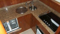 Yacht ANATES II - Galley 2