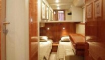 Yacht ANATES II - Guest twin cabin
