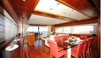 Yacht ANNE MARIE -  Dining and Salon