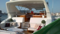Yacht ANTARES K -  Aft Deck Seating