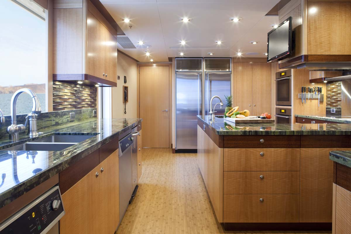 Luxury charter yacht ariana just 200k per week capelux for Kitchen designs by delta