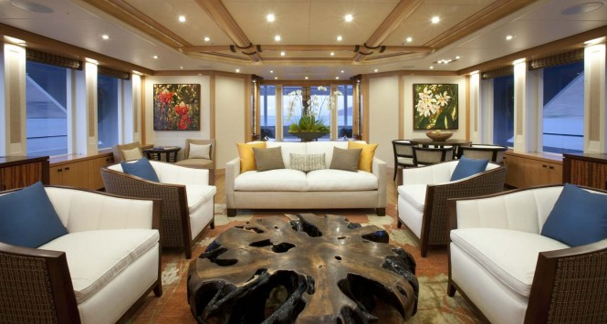Yacht ARIANNA -  Main Salon