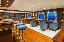 Yacht AXANTHA II -  Main Salon Bar and Dining