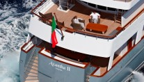 Yacht AXANTHA II -  View of Decks