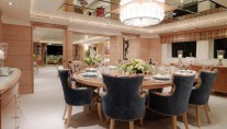 Yacht BALAJU - Formal dining