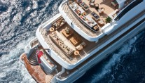 Yacht BELLE AIMEE -  Decks from above