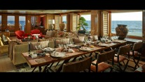 Yacht BELLE AIMEE -  Formal Dining