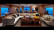 Yacht BELLE AIMEE -  Upper Deck Lounge