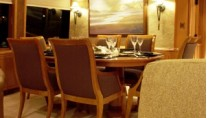 Yacht BESAME -  Dining area