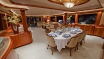 Yacht BETTY JANE -  Formal Dining