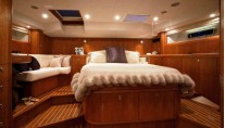 Yacht BILL AND ME -  Master Cabin